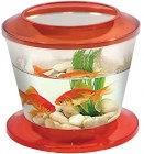 АА-Aquariums Аквариум Gold Fish Bowl, 17л, оранжевый